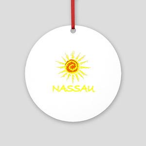 Nassau, Bahamas Ornament (Round)