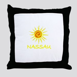 Nassau, Bahamas Throw Pillow