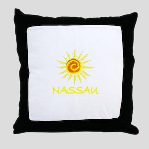 Nassau, Bahamas Throw Pillow