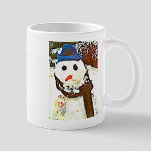 Pittsburgh Snowman Mugs
