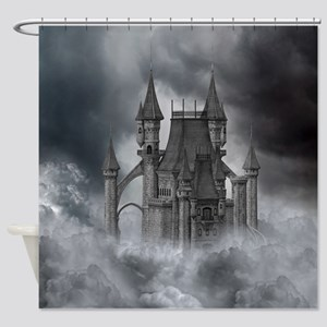 dc_Round Tablecloth 1174_H_F Shower Curtain