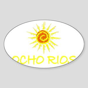 Ocho Rios, Jamaica Oval Sticker