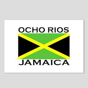 Ocho Rios, Jamaica Flag Postcards (Package of 8)
