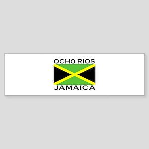Ocho Rios, Jamaica Flag Bumper Sticker