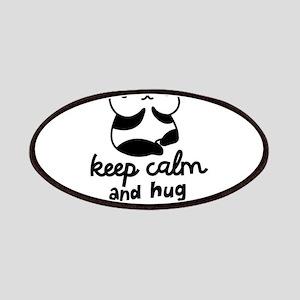 Keep Calm And Hug A Panda Patch