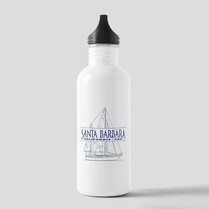 Santa Barbara - Stainless Water Bottle 1.0L