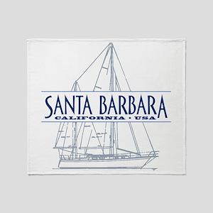 Santa Barbara - Throw Blanket