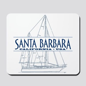 Santa Barbara - Mousepad