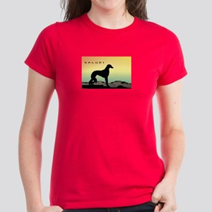 Saluki Dog Desert Women's Dark T-Shirt