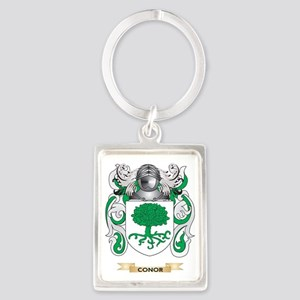 Conor Coat of Arms Portrait Keychain
