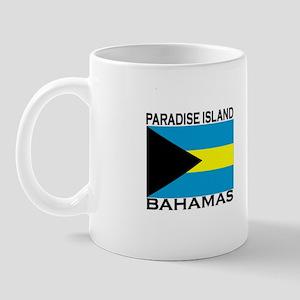 Paradise Island, Bahamas Flag Mug
