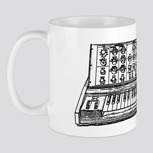 synth black Mug