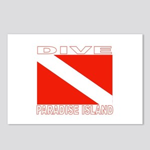 Dive Paradise Island, Bahamas Postcards (Package o