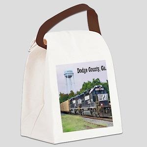 Eastman, Georgia Canvas Lunch Bag
