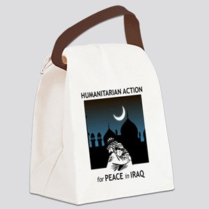 Put Iraq Back on the Agenda Canvas Lunch Bag
