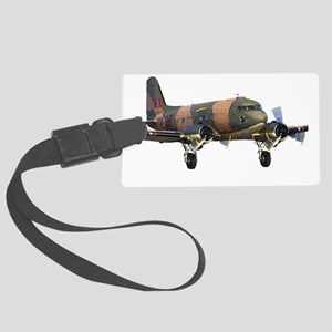C-47 Skytrain Large Luggage Tag