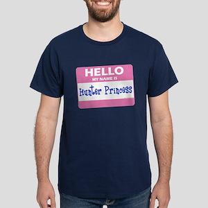My Name Is Hunter Princess! Dark T-Shirt