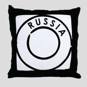 Rossija - Russia Throw Pillow