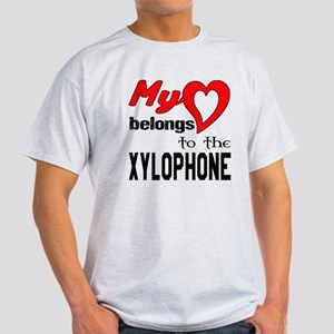 My Heart Belongs To The Xylophone Light T-Shirt
