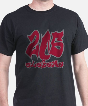 Alabama Black T-Shirt