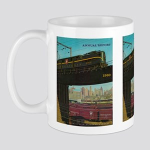 PENNA. RAILROAD 1960 Cover Mug