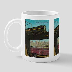 PENNA. RAILROAD 1960 Cover Mug