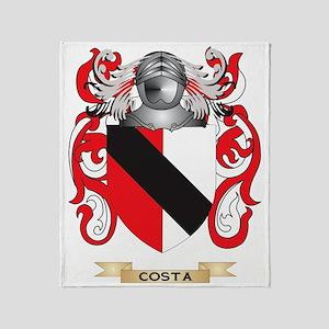 Costa Coat of Arms Throw Blanket
