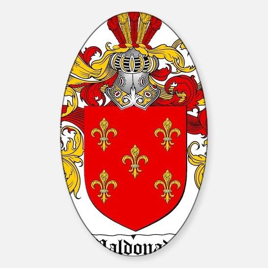 Maldonado Family Crest / Maldonado  Sticker (Oval)