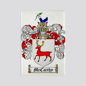 McCarthy Family Crest - coat of a Rectangle Magnet