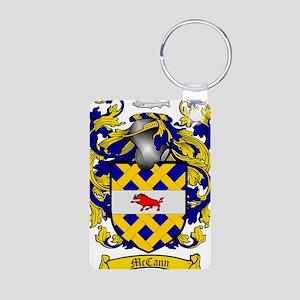 McCann Family Crest - coat Aluminum Photo Keychain