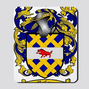 McCann Family Crest - coat of arms Mousepad