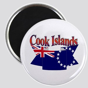 Cook Island flag ribbon Magnet