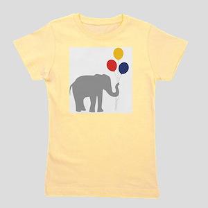 Party Elephant Girl's Tee