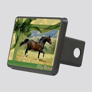 Morgan Horse Christmas Rectangular Hitch Cover