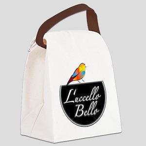 Luccello Bello   gold Canvas Lunch Bag