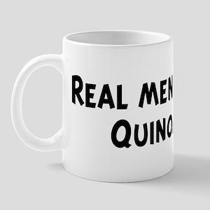 Men eat Quinoa Mug
