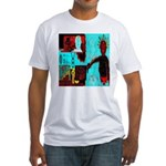 Alchemical Man Discovers Syne Fitted T-Shirt