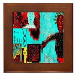 Alchemical Man Discovers Syne Framed Tile
