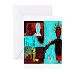 Alchemical Man Discovers Syne Greeting Cards (Pack