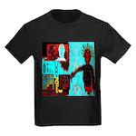 Alchemical Man Discovers Syne Kids Dark T-Shirt