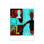 Alchemical Man Discovers Syne Mini Poster Print