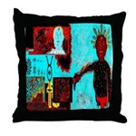 Alchemical Man Discovers Syne Throw Pillow