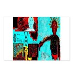 Alchemical Man Discovers Syne Postcards (Package o