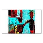 Alchemical Man Discovers Syne Sticker (Rectangular