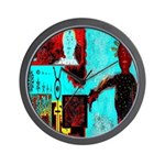 Alchemical Man Discovers Syne Wall Clock