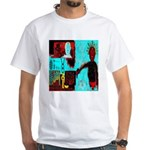 Alchemical Man Discovers Syne White T-Shirt