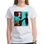 Alchemical Man Discovers Syne Women's T-Shirt