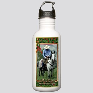 Cowboy Quarter Horse C Stainless Water Bottle 1.0L