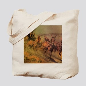 Stage Coach by John Borein Tote Bag