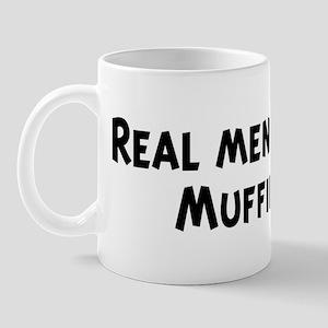 Men eat Muffin Mug
